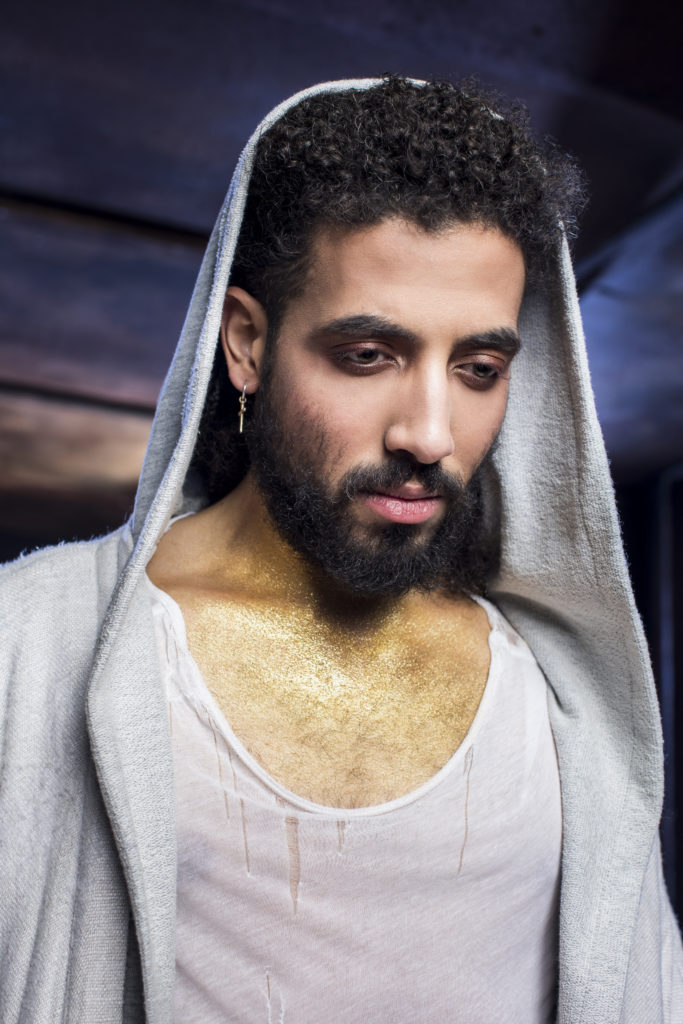 4/4/18 8:39:26 PM -- Lyric Opera Chicago Jesus Christ Superstar Promotional photography Heath Saunders playing the role of Jesus © Todd Rosenberg Photography 2018