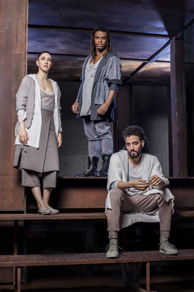 4/4/18 7:39:36 PM -- Lyric Opera Chicago Jesus Christ Superstar Promotional photography Jo Lampert playing the role of Mary, Ryan Shaw as Judas and Heath Saunders as Jesus © Todd Rosenberg Photography 2018